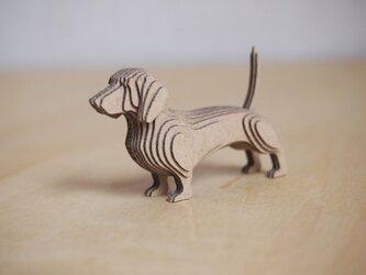 【工作キット】段々犬-Dachshundの画像