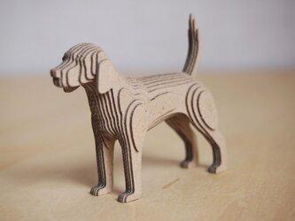 【工作キット】段々犬-Beagleの画像