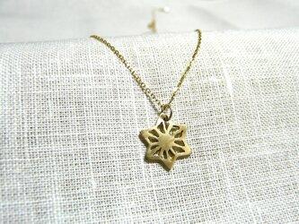麻の葉(ネックレス)の画像