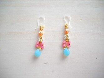 <再販>Candy drop pierced earringsの画像