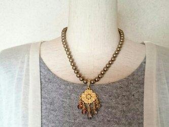 トルコパーツネックレスの画像