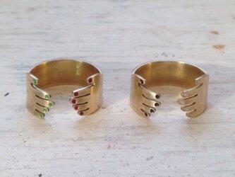 OPEN RING/ 真鍮→シルバーに変更の画像