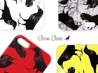 自由なカラス達のプリントスマホケース iPhoneX iPhoneケース各種 Xperiaの画像