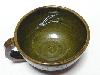 荒土織部 スープマグの画像