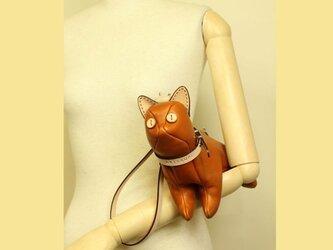 猫ショルダー バッグ Kitten Shoulder タンの画像