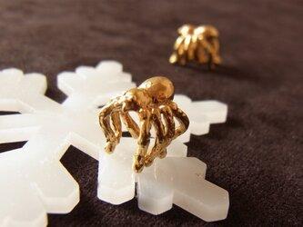 蜘蛛のイヤーカフの画像