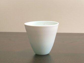 白彩-カップ(ラムネ色)2の画像