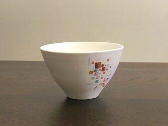 白彩-ごはん茶碗(AYA)の画像