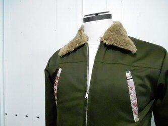 帯のミリタリージャケット01の画像