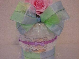 小さいおむつケーキの画像