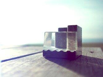 """小さな海のペンスタンド。 """"Pool-B""""(クリア)の画像"""