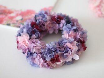 アジサイのリースS(Purple)の画像