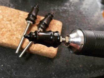 黒檀コバ磨きマルチビットの画像