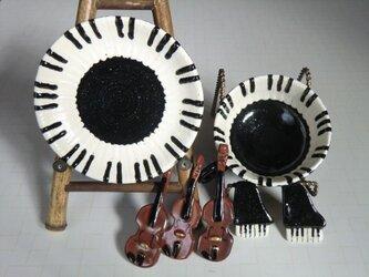 ピアノのカップ&ソーサの画像