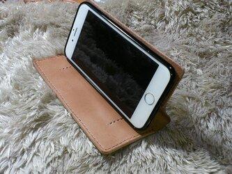 iPhone6/6s(4.7インチ)アイフォン☆サドルレザーケースⅣの画像