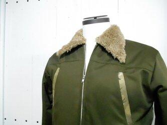 帯のミリタリージャケット02の画像
