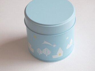 ちいさなお茶缶「流れ星」の画像