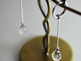 ティアドロップのイヤリングの画像