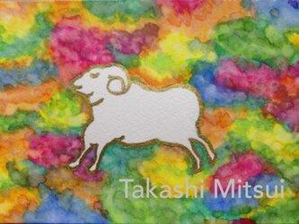 夢みる羊の画像