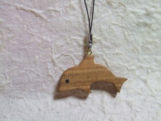 ストラップ イルカの画像
