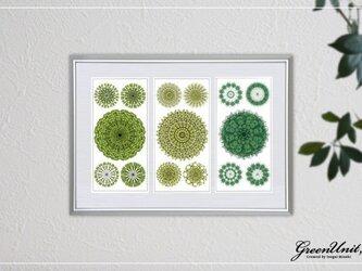 Green Flowers #2の画像