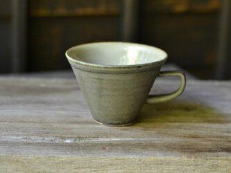 サンカクコーヒーカップ 黒の画像