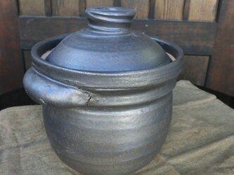 二合炊きご飯土鍋の画像
