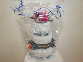 三段おむつケーキの画像
