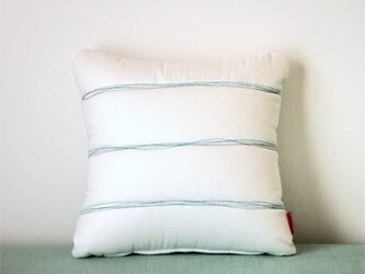 Quilt cushion (S) / whiteの画像