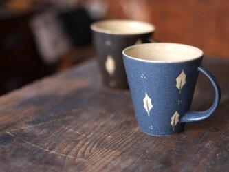 ひいらぎマグカップ(紺)の画像