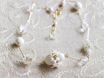White Bouquet 2(necklace)の画像