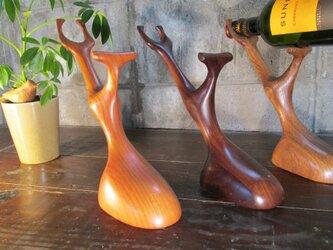 ワインボトルホルダー かぶとむしの画像