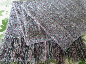 草木染 手織りストール Ⅰの画像