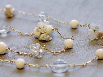 White Bouquet : Opera(necklace)の画像