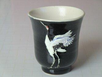 丹頂鶴のフリーカップの画像