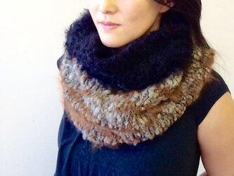 ナチュラルカラー neck warmerの画像