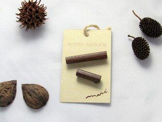 WOOD BROOCHの画像
