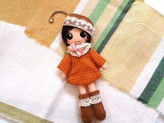着せ替えフェルト人形根付NO.33の画像