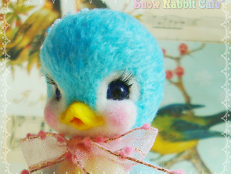 青い鳥の画像