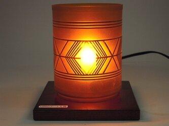 弥生土器文様ランプの画像