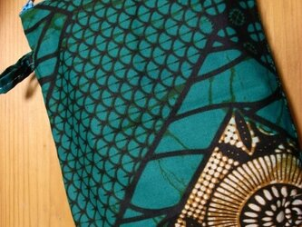 アフリカン カラフルポーチ petit sac(委託)の画像