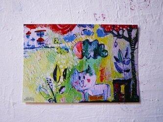 ネコ*ポストカード(3枚set)の画像