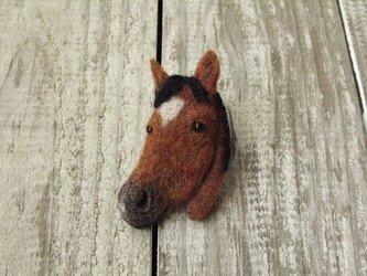馬のブローチ ~ジェンティルドンナ編~の画像