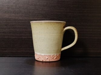 彩夢文様 マグカップ 白×ピンクの画像