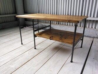 【展示作品】リビングソファローテーブル(muramatsum様仕様)の画像