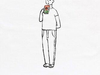 パックジュース・少年の画像
