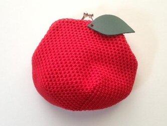 りんごのがまぐちの画像