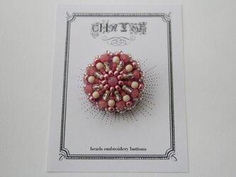 ビーズ刺繍のボタン no.1503の画像