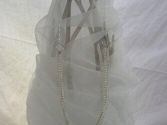 #1 めくるネックレス 淡水パール ホワイトの画像