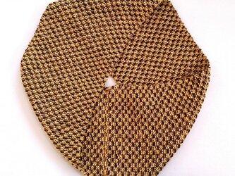 【CHIMI】手編みラウンドスカーフの画像